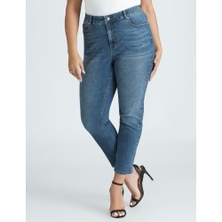 Beme Mid Rise Core Regular Length Jean - Mid Wash - 14 found on Bargain Bro from crossroads for USD $22.86