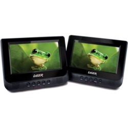 Laser Portable Dvd Player Dual 7