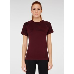 Jerf Womens Castro Seamless T-shirt - Purple - L found on Bargain Bro from Noni B Limited for USD $29.94