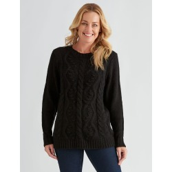 Rivers Bobble Detail Jumper - Black - S found on Bargain Bro Philippines from crossroads for $23.57
