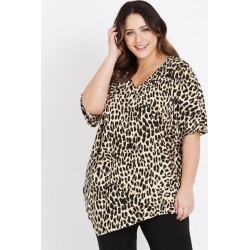 Beme Elbow Sleeve Animal Top - S found on Bargain Bro Philippines from Rockmans for $14.48