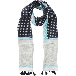 W.lane Gingham Print Scarf - Multi found on Bargain Bro India from crossroads for $28.68