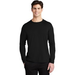 Sport-tek Posi-uv Pro Long Sleeve Tee - Black - XS found on Bargain Bro Philippines from Noni B Limited for $22.00