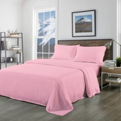 Royal Comfort 1000tc Pure Soft Bamboo Blend Sheet Set - Blush - Queen found on Bargain Bro India from W Lane for $27.78