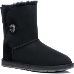 Ugg Boots Short Button - Black - AU W4/ M2 found on Bargain Bro from Katies for USD $80.50