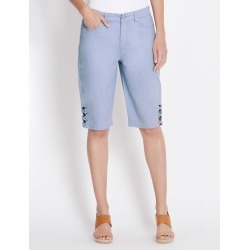 Rockmans Knee Length Pedal Pusher - Powder Blue - 8 found on Bargain Bro India from W Lane for $15.55