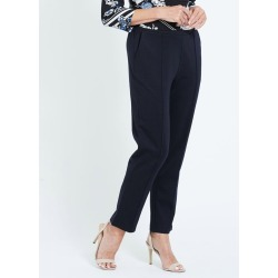 Millers Short Length Essential Ponte Pant - Navy found on Bargain Bro Philippines from crossroads for $21.52