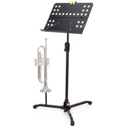 Hercules Tripod Orchestra Stand W/foldable Desk - Black - One found on Bargain Bro Philippines from Noni B Limited for $65.66