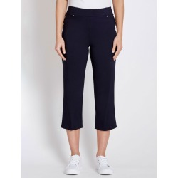 Rockmans Crop Bengaline Pant - True Navy - 8 found on Bargain Bro India from BE ME for $19.29
