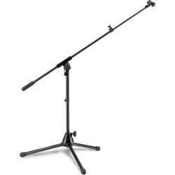 Hercules Low Profile Tripod Microphone Stand W/ Boommic Clip - Multi - One found on Bargain Bro Philippines from Noni B Limited for $43.52