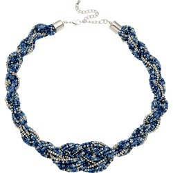 W.lane Shelley Plait Necklace - Blue found on Bargain Bro India from crossroads for $14.34