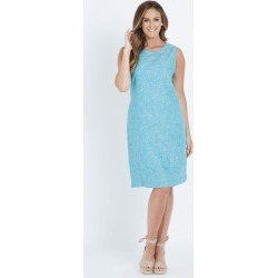 W.lane Linen Dress - Sea Green Xdye - 14 found on Bargain Bro from BE ME for USD $36.63