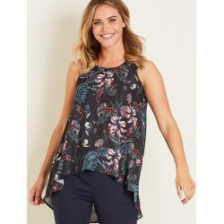 Crossroads Hi Lo Floral Top - Multi found on Bargain Bro Philippines from crossroads for $11.12