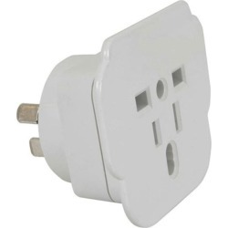 Techbrands Au/nz Inbound Mains Travel Adaptor - Multi found on Bargain Bro India from crossroads for $18.41