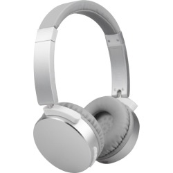 Todo Stereo Bluetooth 5.0 Headphone Earphones Rechargeable Battery Neodymium Driver - Silver - One found on Bargain Bro from Noni B Limited for USD $24.65