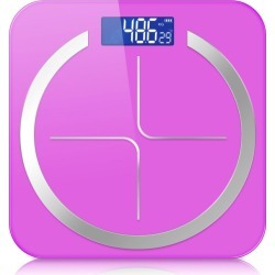 Soga 180kg Digital Fitness Weight Bathroom Scales - Pink - ONE found on Bargain Bro from Noni B Limited for USD $19.31