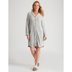 Rivers Knitted Button Up Nightie - Grey - 14/16 found on Bargain Bro India from W Lane for $18.95