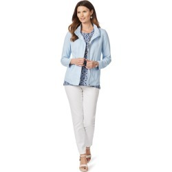 W.lane Panelled Jacket - Powder found on Bargain Bro India from crossroads for $14.35