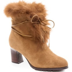 Ozwear Ugg Leah Fur Lined Heel - Chestnut - EU40 / AU10L found on Bargain Bro Philippines from Katies for $119.58