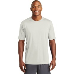 Sport-tek Posicharge Tough Tee - Silver - M found on Bargain Bro Philippines from Noni B Limited for $21.21