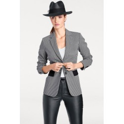 Heine Black And White Spot Jacket - Black/white - 38 found on Bargain Bro from Noni B Limited for USD $53.78