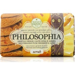 Nesti Dante Philosophia Natural Soap - Scrub - Mediterranean Plum, Persimmon And Amber With Bran And Walnut Granules - Multi - 250g found on Bargain Bro from BE ME for USD $9.17