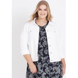 Beme Long Sleeve White Denim Jacket - 20 found on Bargain Bro India from W Lane for $30.33