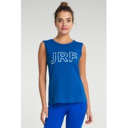 Jerf Womens Cusco Sleeveless T-shirt - Blue - L found on Bargain Bro from Noni B Limited for USD $27.59