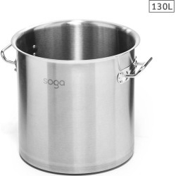 Soga Ss Top Grade Stock Pot No Lid 130l 18/10 - Stainless Steel - ONE found on Bargain Bro from Noni B Limited for USD $161.39