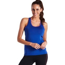 Lasculpte Women's Slim Fit Yoga Contrast Detail Tank Top - Cobalt - 12 found on Bargain Bro from Noni B Limited for USD $5.84