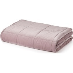 Windsor Quilted Velvet Throw - Lilac - One Size found on Bargain Bro from Noni B Limited for USD $48.72