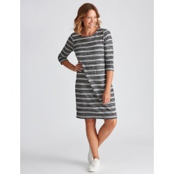 Millers Brushed Dress - Charcoal Stripe - 10 found on Bargain Bro Philippines from crossroads for $15.72