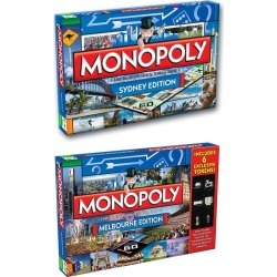 Monopoly Board Game Sydneymelbourne Edition 2pk - Multi - One found on Bargain Bro Philippines from Rockmans for $78.54