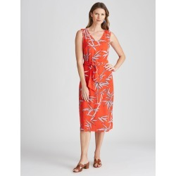 W.lane Bamboo Print Wrap Dress - Multi - 16 found on Bargain Bro from Rockmans for USD $36.63