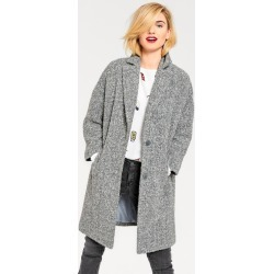 Urban Boucle Coat - Grey Marl - 6 found on Bargain Bro from Noni B Limited for USD $55.77
