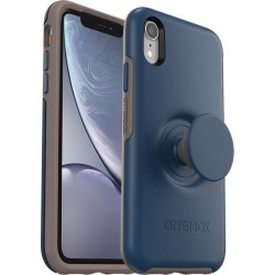 Otter + Pop Symmetry Case For Iphone Xr - Navy Blue - One