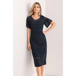 Grace Hill Broderie Dress - Navy - 8 found on Bargain Bro Philippines from W Lane for $58.24