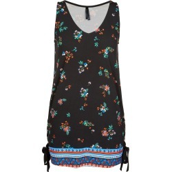 Crossroads Lace Up Eyelet Tunic - Black Floral - 16 found on Bargain Bro Philippines from W Lane for $14.34