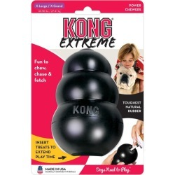 Kong Dog Extreme Food Dispenser Interactive Dog Toy Xl - Multi
