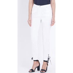 W.lane Contrast Trim Ankle Jean - White - 12 found on Bargain Bro Philippines from Rockmans for $14.48