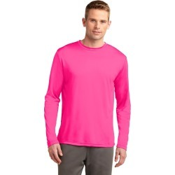 Sport-tek Long Sleeve Posicharge Competitor Tee - Neon Pink - L found on Bargain Bro Philippines from Noni B Limited for $21.21