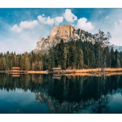 Aj Wallpaper 3d Lake Hill Scenery 91 Wall Murals Removable Wallpaper Self-adhesive Vinyl - Multi - XXXXL found on Bargain Bro Philippines from Noni B Limited for $385.05