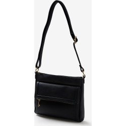 Rivers Foldover Crossbody Handbag - Black - ONE found on Bargain Bro India from Rockmans for $15.19