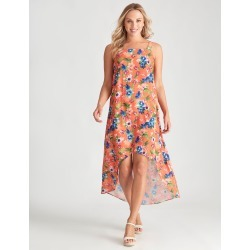 Crossroads Hi Lo Printed Dress - Print - 8 found on Bargain Bro from Noni B Limited for USD $7.10