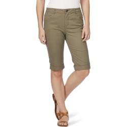 Rockmans Knee Length Pocket Detail Short - Olive found on Bargain Bro India from crossroads for $13.68