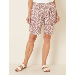 Millers Printed Rayon Short - Mocha Breeze Mono - 8 found on Bargain Bro India from W Lane for $11.66