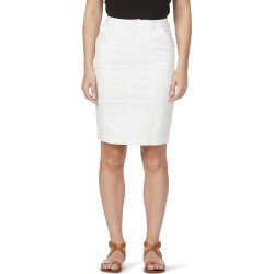Rockmans Cargo Denim Skirt - White - 8 found on Bargain Bro India from Noni B Limited for $14.08