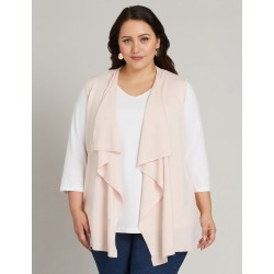 Slvles Waterfal Vst - Soft Pink - XS found on Bargain Bro Philippines from crossroads for $28.71