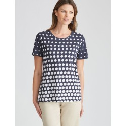 W.lane Spot Tee - French Navy - XL found on Bargain Bro from Rockmans for USD $8.45