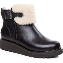 Ozwear Ugg Womens Queena Shearling Boots - Black - EU35 / AU5L found on Bargain Bro from Katies for USD $87.52